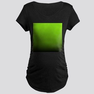 ombre lime green Maternity T-Shirt