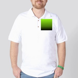 ombre lime green Golf Shirt