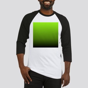 ombre lime green Baseball Jersey