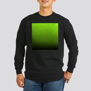 ombre lime green Long Sleeve T-Shirt