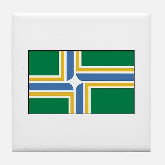 Portland, Oregon USA Tile Coaster