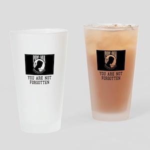 Not Forgotten Drinking Glass