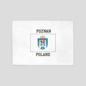 Poznan Poland 5'x7'Area Rug