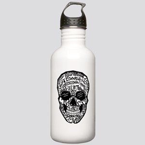 Radiology Terms Skull Stainless Water Bottle 1.0L