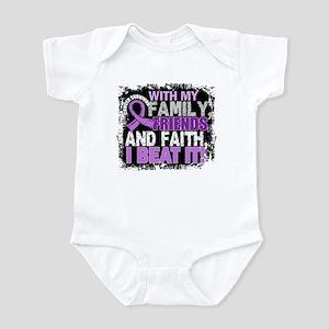 Cancer Survivor FamilyFriendsFaith Infant Bodysuit