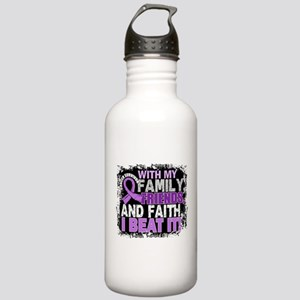 Cancer Survivor Family Stainless Water Bottle 1.0L