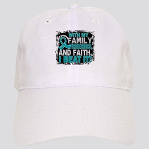 Gynecologic Cancer Survivor FamilyFriendsFaith Cap