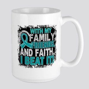 Gynecologic Cancer Survivor FamilyFrien Large Mug