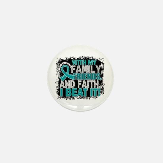 Gynecologic Cancer Survivor FamilyFrie Mini Button