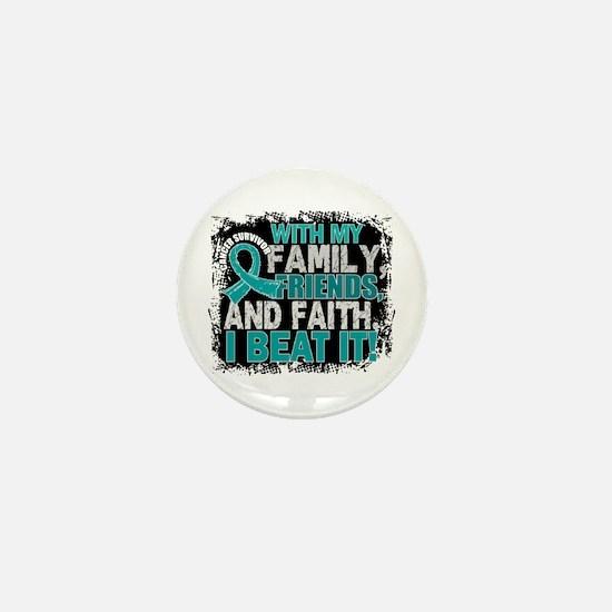 Gynecologic Cancer Survivor Mini Button (10 pack)