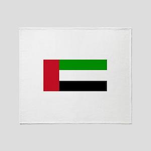 United Arab Emirates Throw Blanket