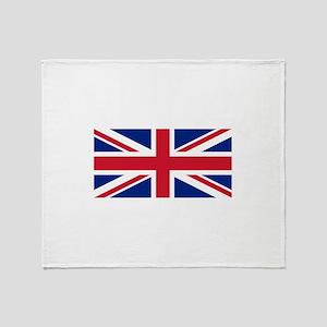 United Kingdom Throw Blanket