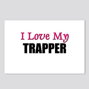 I Love My TRAPPER Postcards (Package of 8)