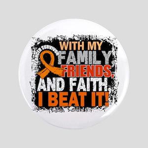 Leukemia Survivor FamilyFriendsFaith Button