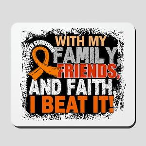Leukemia Survivor FamilyFriendsFaith Mousepad