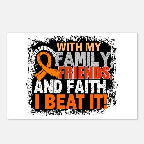 Leukemia Survivor FamilyF Postcards (Package of 8)