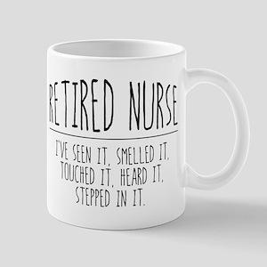 Retired Nurse 11 oz Ceramic Mug