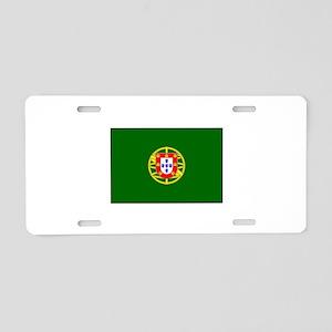 President of Portugal Flag Aluminum License Plate