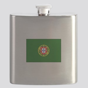 President of Portugal Flag Flask