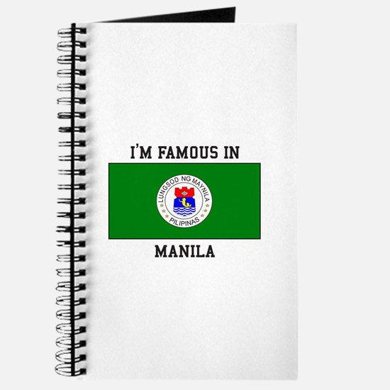 I'm Famous in Manila Journal