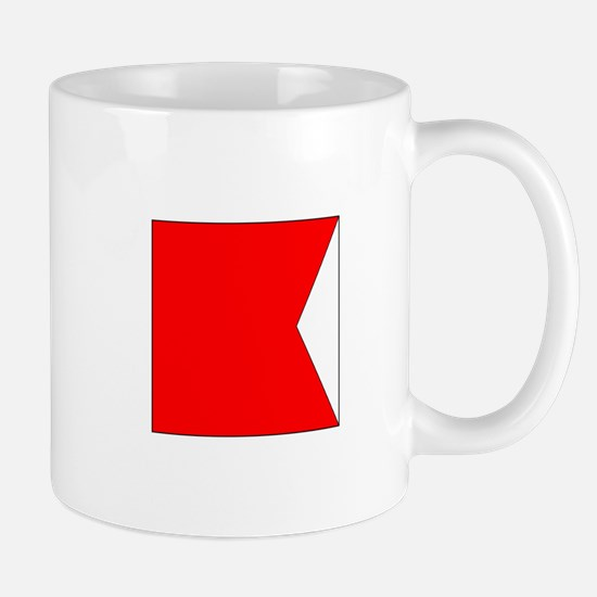 "ICS Flag Letter ""B"" Mugs"