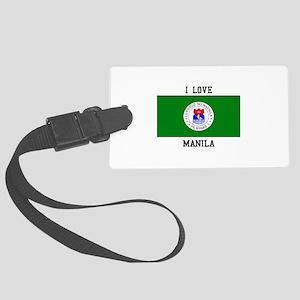 I Love Manila Luggage Tag