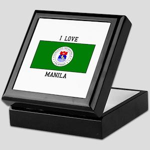 I Love Manila Keepsake Box