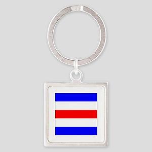 "ICS Flag Letter ""C"" Keychains"