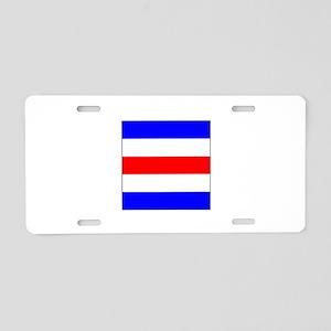 "ICS Flag Letter ""C"" Aluminum License Pla"