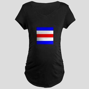 "ICS Flag Letter ""C"" Maternity T-Shirt"