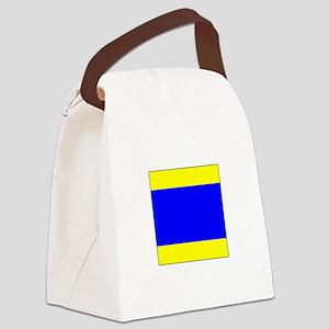 "ICS Flag Letter ""D"" Canvas Lunch Bag"
