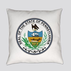 Pennsylvania State Seal Everyday Pillow