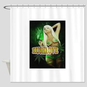 KushLove Shower Curtain