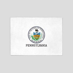 Pennsylvania 5'x7'Area Rug