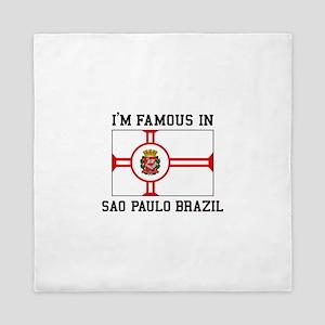 Famous In Sao Paulo Brazil Queen Duvet