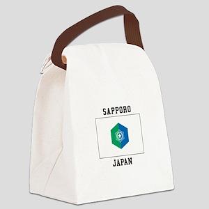 Sapporo Japan Canvas Lunch Bag