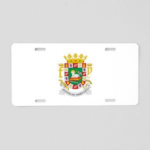 Puerto Rico Territory Aluminum License Plate