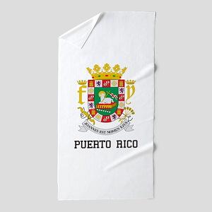 Puerto Rico Beach Towel