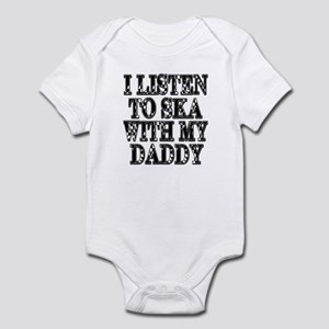 Ska With Daddy Infant Bodysuit