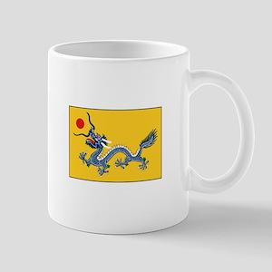 Qing Dynasty Flag Mugs