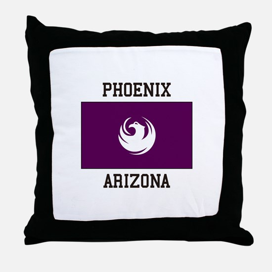 Phoenix Arizona Throw Pillow