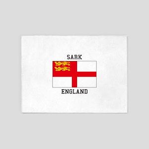 Sark England 5'x7'Area Rug