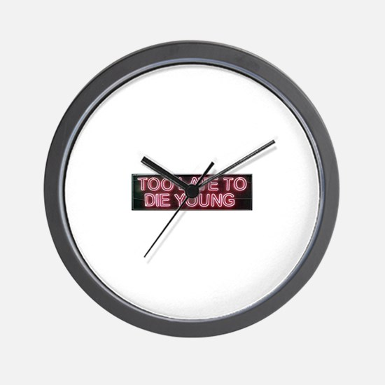 Cool Zine Wall Clock