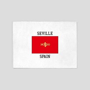 Seville Spain 5'x7'Area Rug