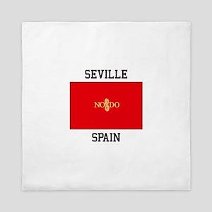 Seville Spain Queen Duvet
