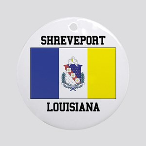 Shreveport Louisiana Ornament (Round)