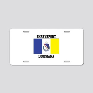 Shreveport Louisiana Aluminum License Plate