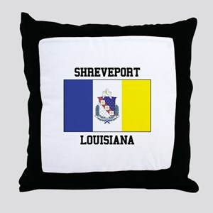Shreveport Louisiana Throw Pillow