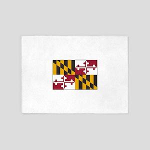 Maryland USA 5'x7'Area Rug