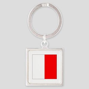 """ICS Flag Letter """"H"""" Keychains"""